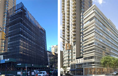 Upper East Side Luxury Condominium with Ground-Floor Retail Recapitalization